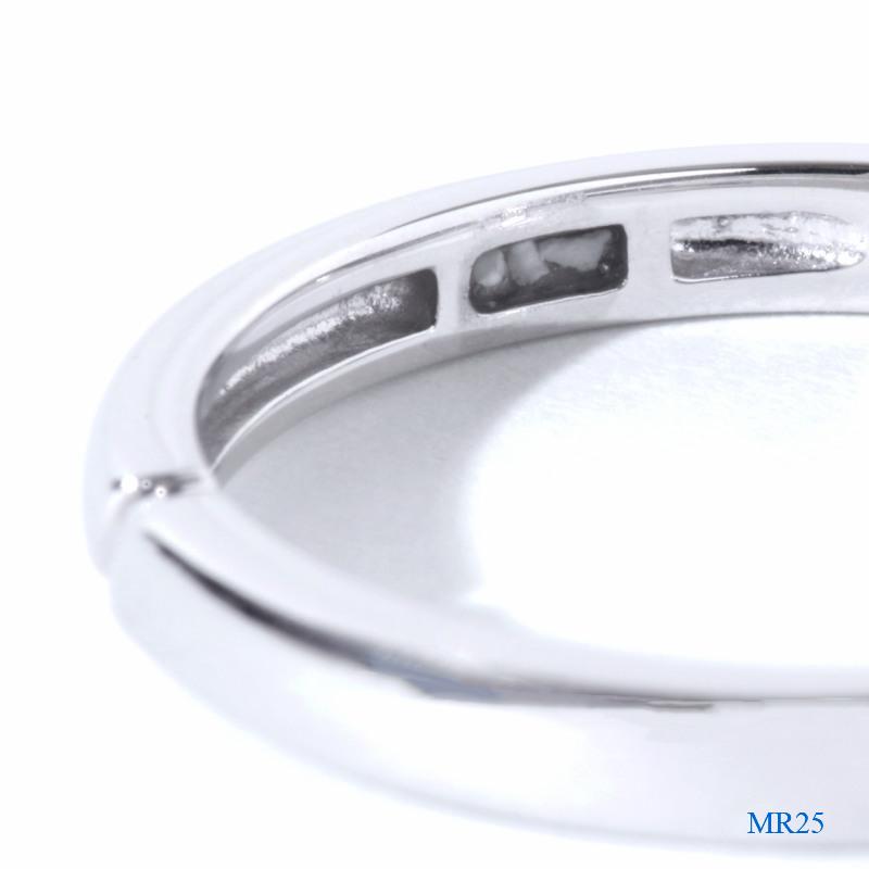 セミオーダーメモリアルリング 【MR25/K18PG】 指輪,遺骨 完全防水