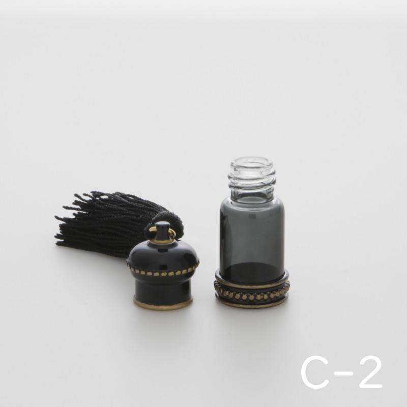 手元供養・携帯も可能な分骨ミニ骨壷 クラウン C-2