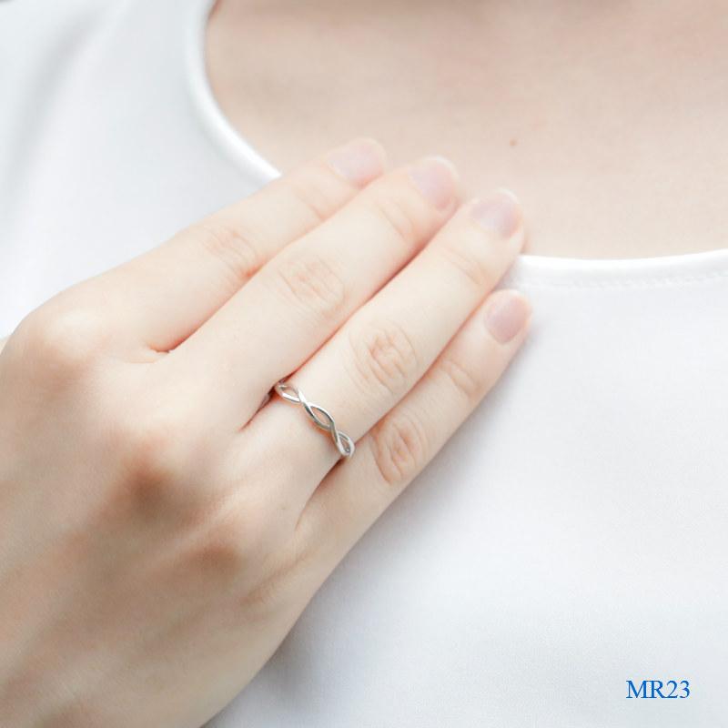 セミオーダーメモリアルリング【MR23/Pt900 プラチナ】指輪,遺骨リング,完全防水