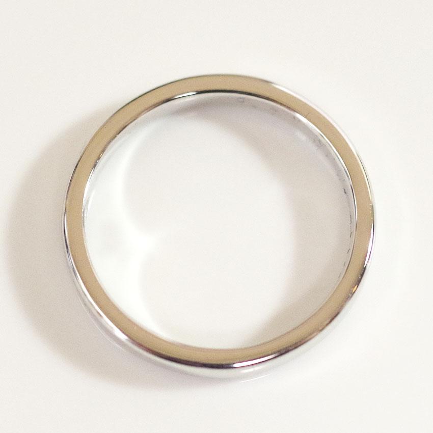 セミオーダーメモリアルリング【MR03/K18WG ホワイトゴールド】指輪,遺骨リング,完全防水