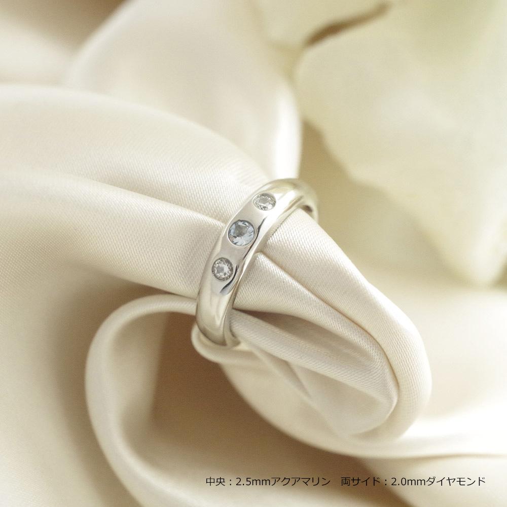 [完全防水] 遺骨を納める指輪 メモリアルリング LJR11 [素材:プラチナ900]