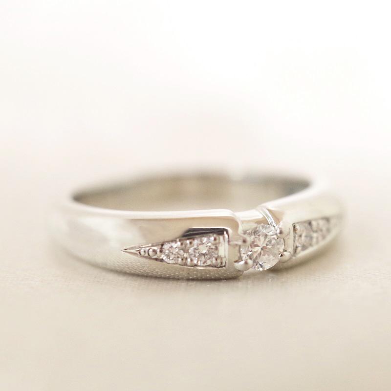 [完全防水]  遺骨を納める指輪 メモリアルリング LJR11B [素材:プラチナ900×誕生石]