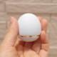 手元供養用の小さなミニ骨壷 オシャレでかわいいたまご型・日本製高岡仏具 ミニ骨壷「玉慈」(ぎょくじ) カラー:パステルブルー