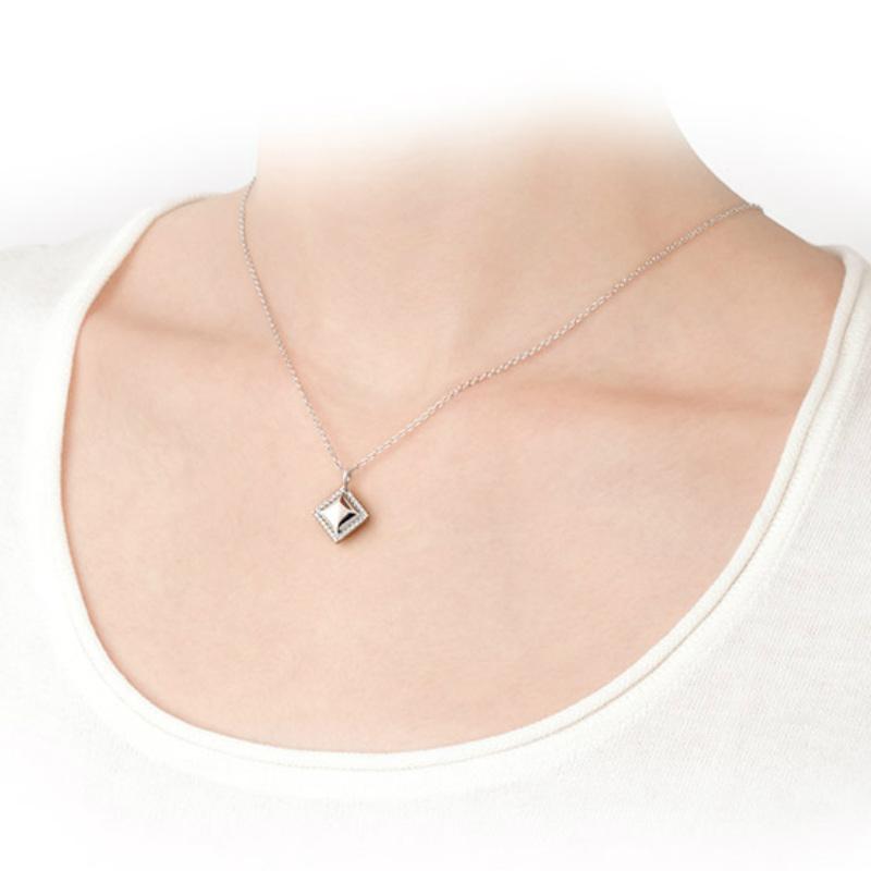 遺骨ペンダント ソウルジュエリー エタニティダイヤ K18RG (ローズゴールド)×ダイヤモンド