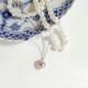 遺骨ペンダント ソウルジュエリー エタニティハート K18RG (ローズゴールド)×ダイヤモンド