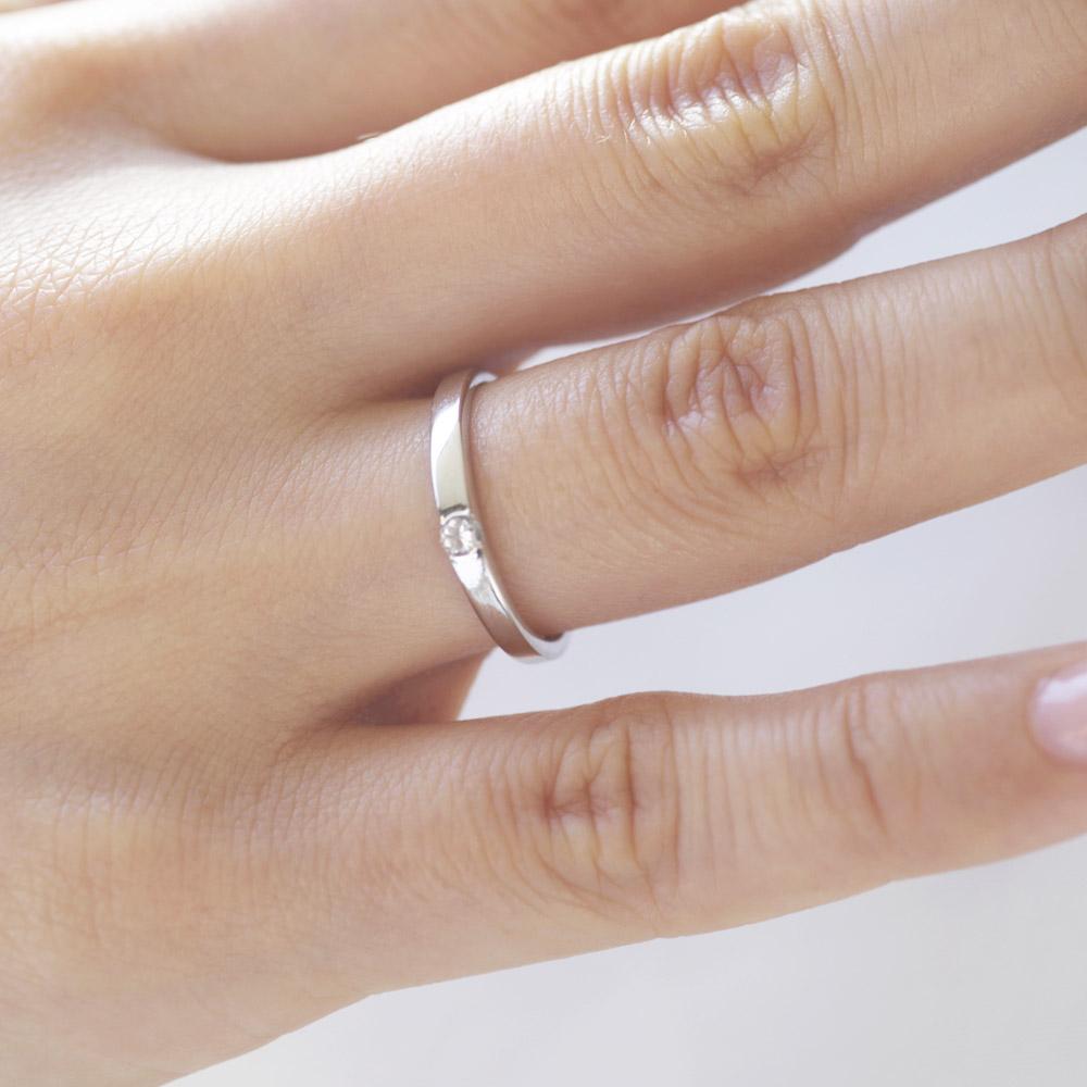 メモリアルリングMR04 地金:K18PG (18Kピンクゴールド) 〜遺骨リング ,完全防水の指輪〜