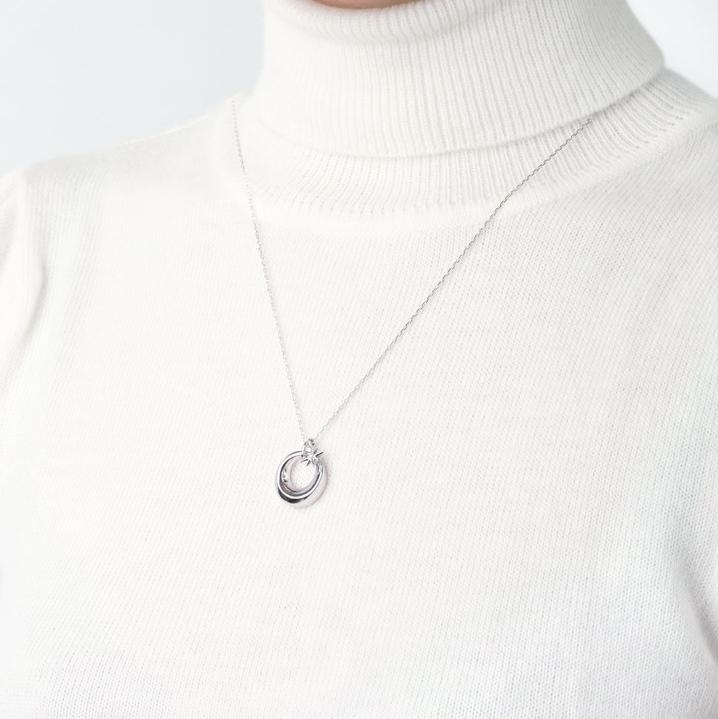ソウルジュエリー(遺骨ペンダント) 【チャーム・スター】 SILVER×ダイヤモンド 誕生石での制作も可能です