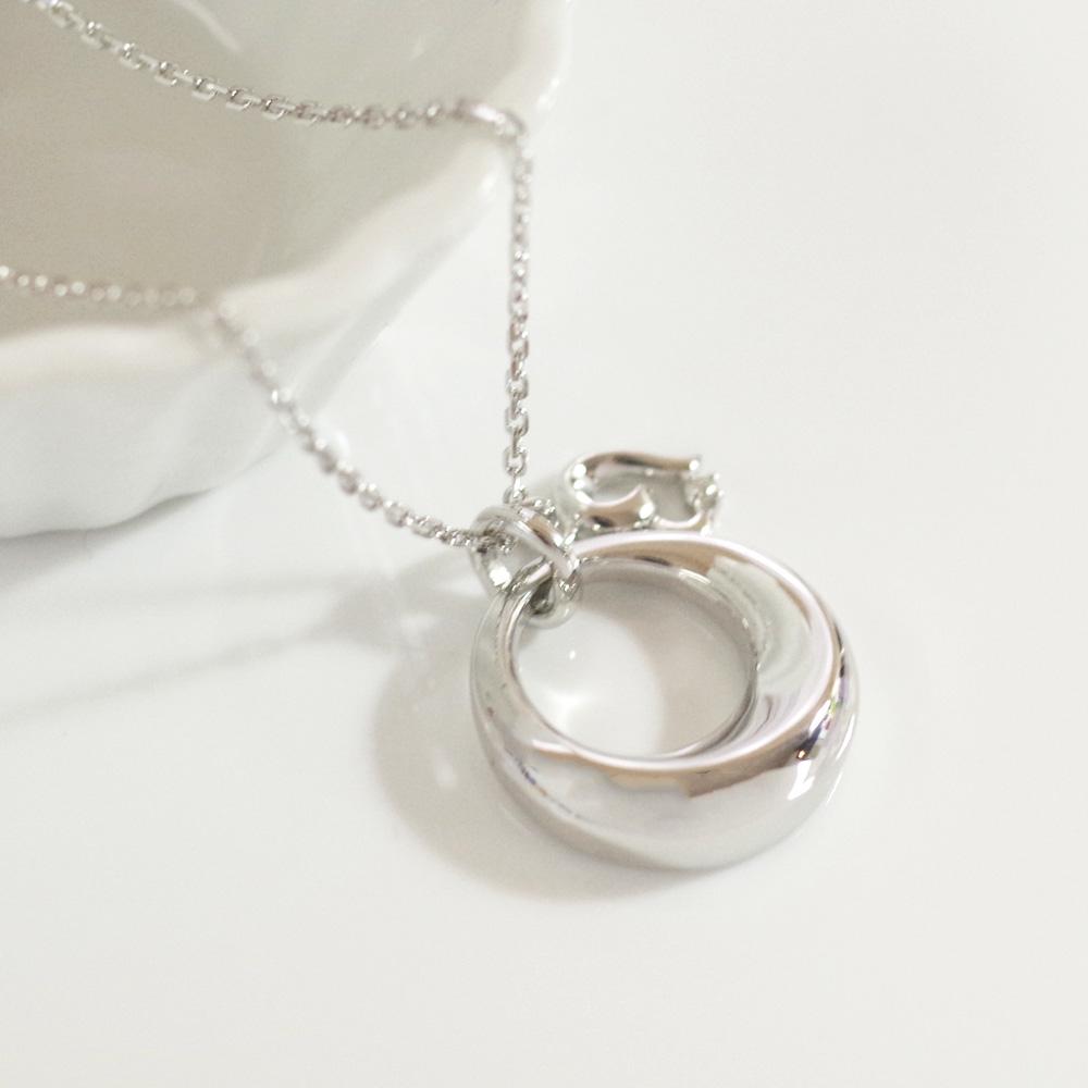 ソウルジュエリー(遺骨ペンダント) 【チャーム・ハート】 SILVER×ダイヤモンド 誕生石での制作も可能です