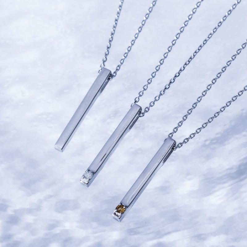 メモリアルジュエリー 【MS12/Pt900】 2.5mmのダイヤモンドまたは誕生石 樹脂埋封セミオーダー 遺骨ペンダント