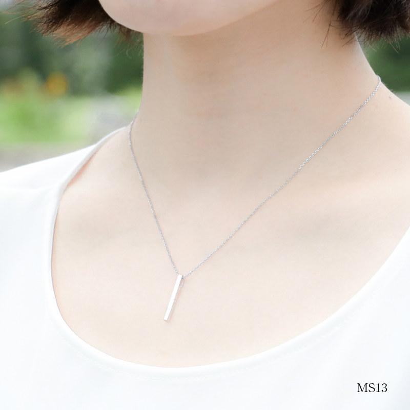 メモリアルジュエリー 【MS13/K18WG】 樹脂埋封セミオーダー 遺骨ペンダント