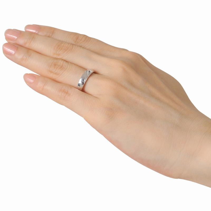[完全防水] 遺骨を納める指輪 メモリアルリング LJR21B [素材:K18ピンクゴールド]