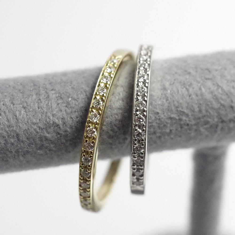 メモリアルリングMR08 地金:K18PG (18Kピンクゴールド) 〜遺骨リング ,完全防水の指輪〜