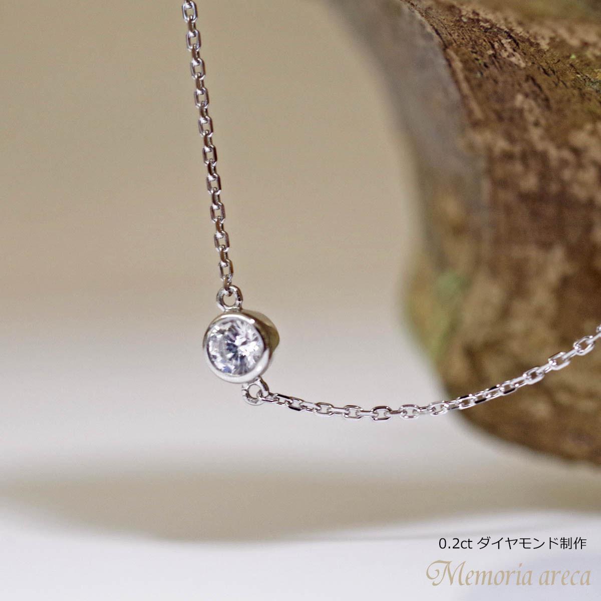 メモリアルジュエリー ブレスレット MB01 【完全防水樹脂埋封ジュエリー】 プラチナ×ダイヤモンド(誕生石)