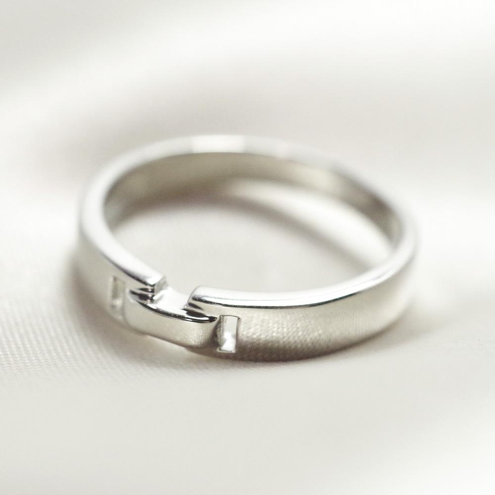 メモリアルリングMR13 地金:K18YG (18Kイエローゴールド) 〜遺骨リング ,完全防水の指輪〜