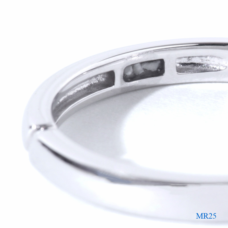 セミオーダーメモリアルリング 【MR25/K18YG】 指輪,遺骨 完全防水