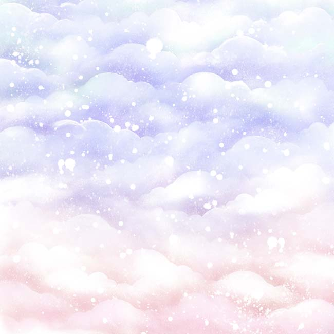 MP-60455 12x12 Lavender Sparkly Sky