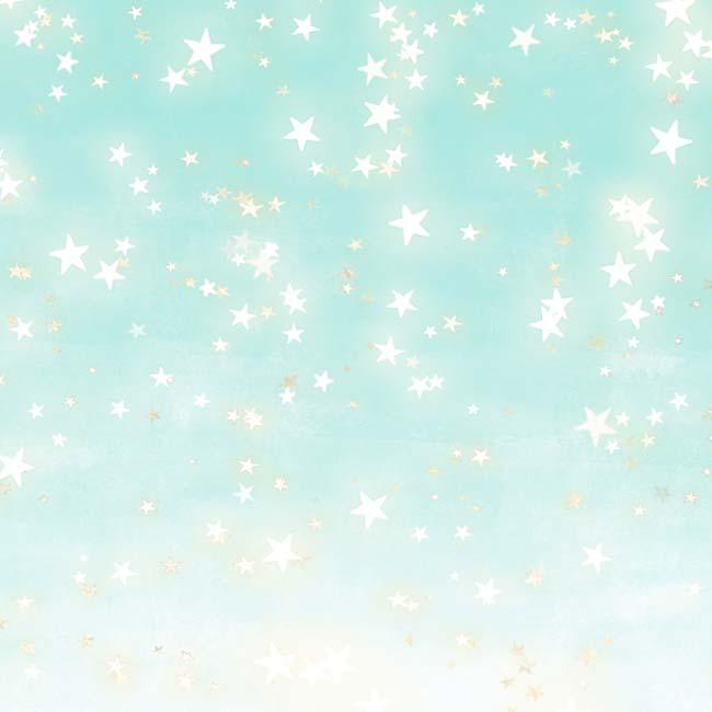 MP-60456 12x12 Mint Sparkly Sky