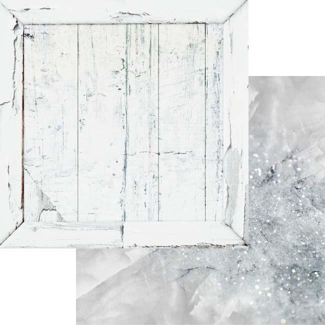 MP-60328 12x12 Weathered Wood & Crystals Grey Quartz