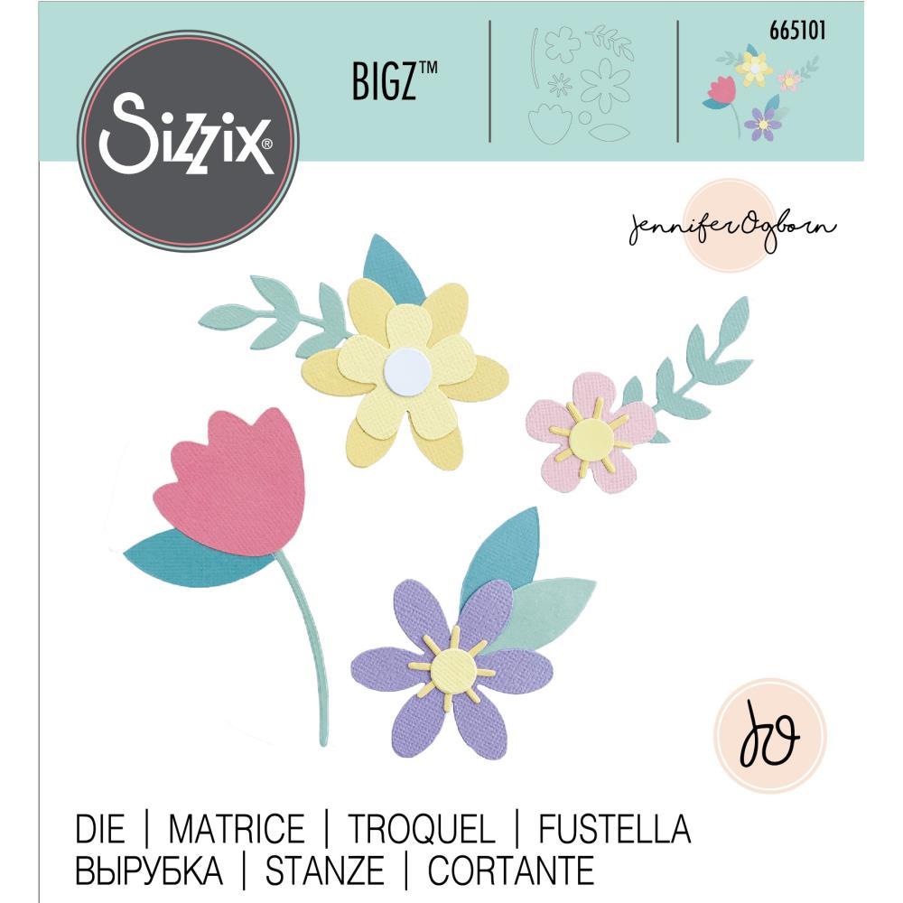 Sizzix-665101 Spring Flowers by Jennifer Ogborn