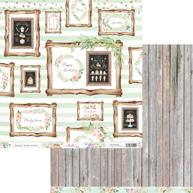 MP-60125 12x12 So Sweet Wood Frames