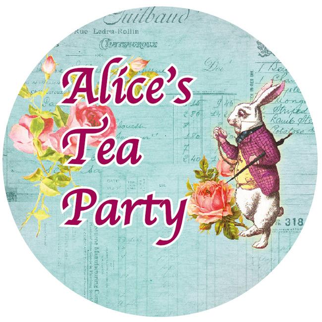 MP-60298 マスキングテープ 15mm Alice's Tea Party