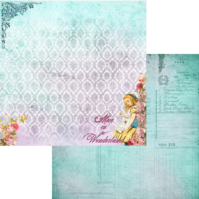 MP-60300 12x12 Alice in Wonderland