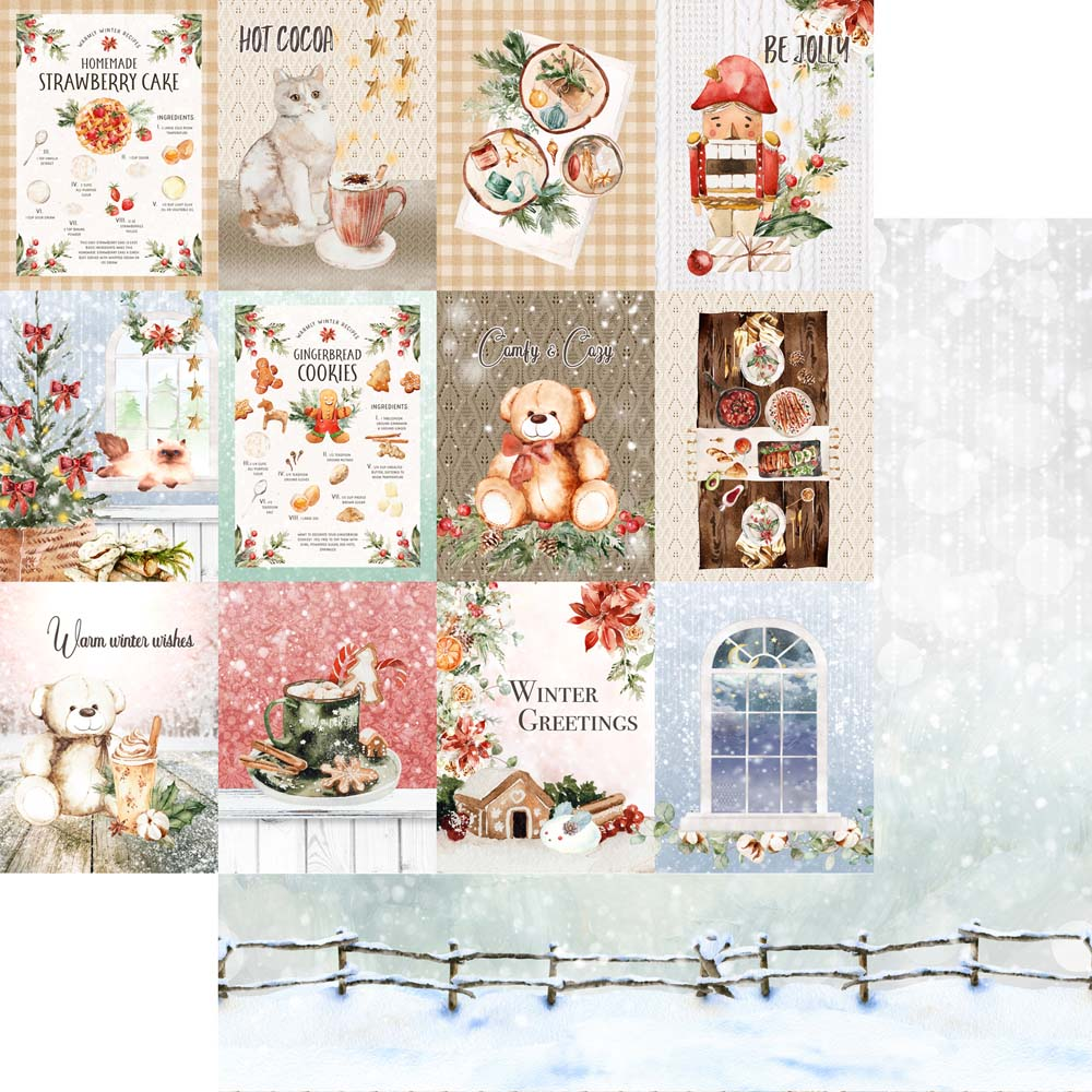 MP-60677  Home for the Holidays  12x12 Paper Kt