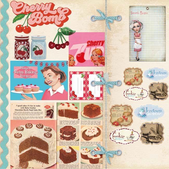 MP-60277 Vintage Recipes Retro Cook Book C-7-2