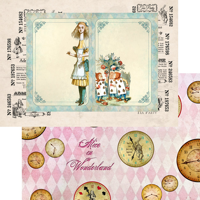 MP-60309 A4 Alice's Tea Party 4