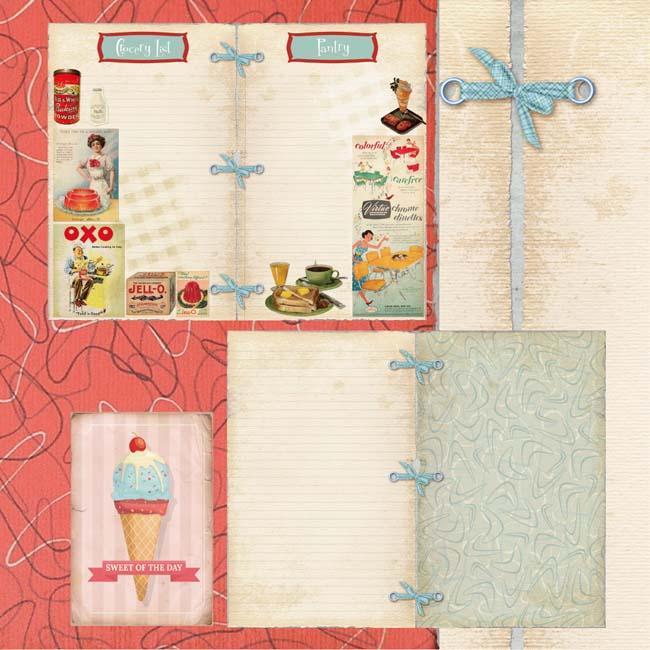 MP-60280 Vintage Recipes Grocery List C-7-5