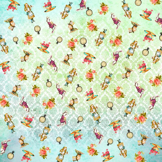 MP-60326 Origami Alice's Tea Party