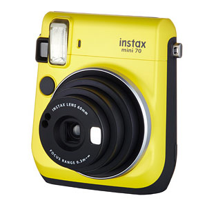 チェキ instax mini 70 Yellow