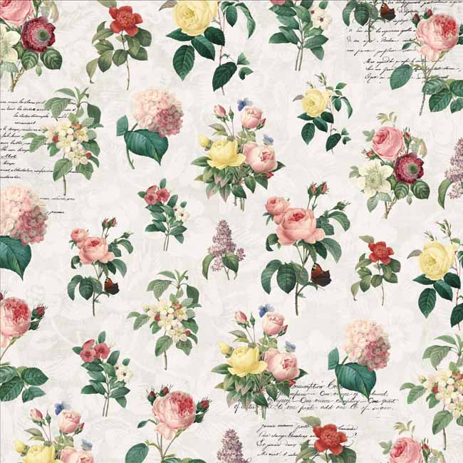 MP-60370 Floral Tapestry 12x12 Real Beauty C-8-20