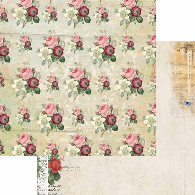 MP-60372 Floral Tapestry 12x12 Bouquet C-8-22