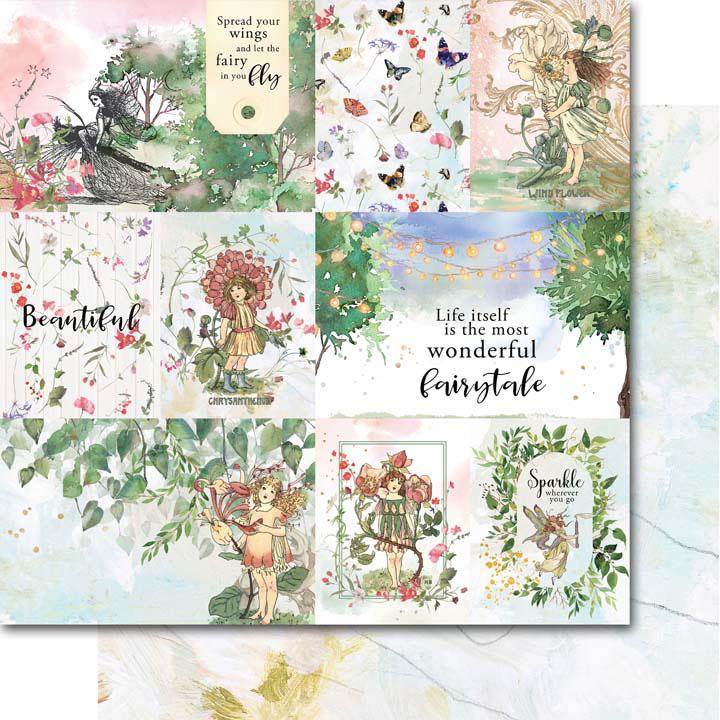 MP-60820  Enchanted 12x12 Fairytale