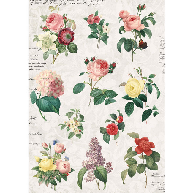 MP-60377 Floral Tapestry A4 1 C-8-13