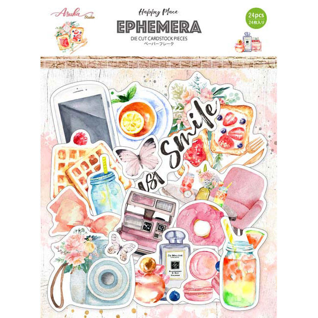 MP-60506 Happy Place Ephemera