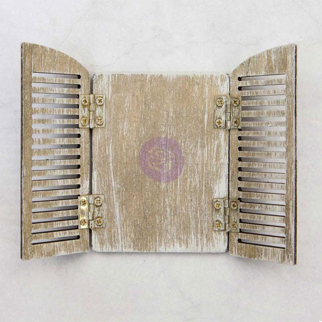 PR-993702 Memory Hardware - Wood Shutters