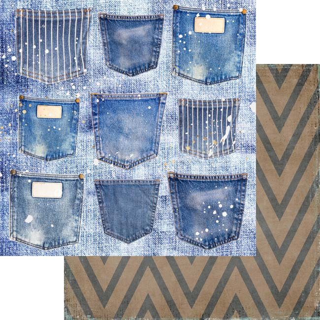 MP-60519 Shades of denim 12x12 Pockets