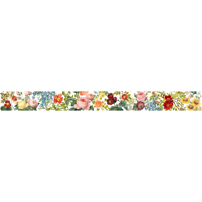 MP-60385 Floral Tapestry Washi Tape 15mm