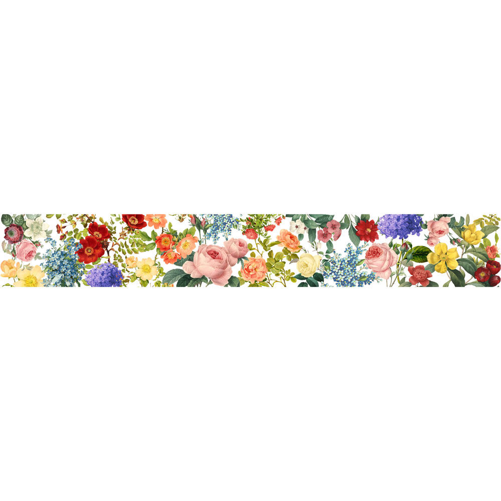 MP-60386 Floral Tapestry Washi Tape 25mm
