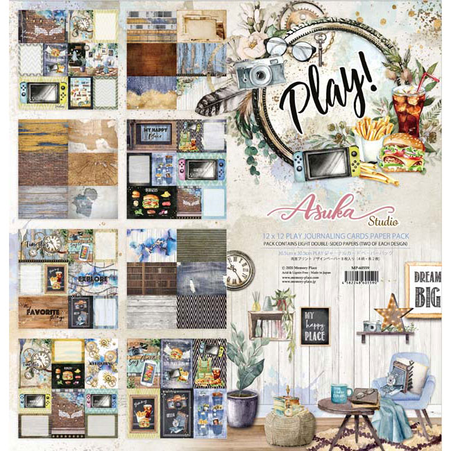 MP-60559 Asuka Studio Play 12x12 4x6 Collection Pack