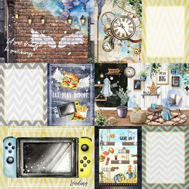 MP-60560 Asuka Studio Play 12x12 4x6 1