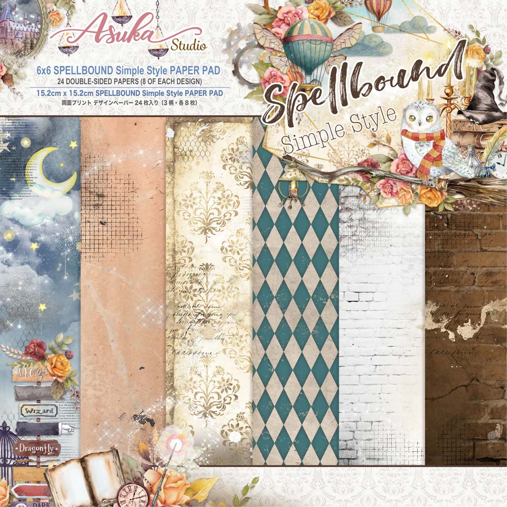 MP-60641  Spellbound Simple Style 6x6 Paper Pad