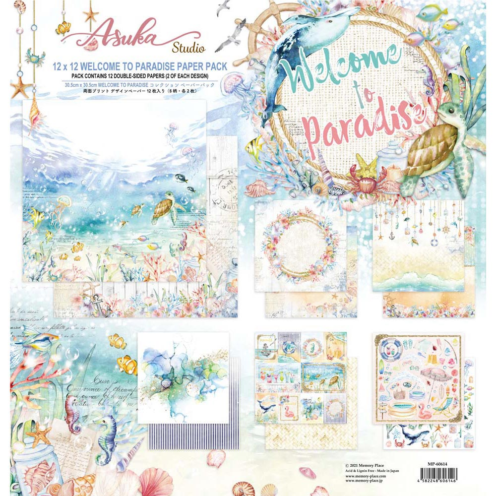 MP-60614  Welcome to Paradise 12x12 Collection Pack