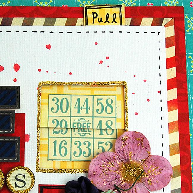 ラブメモ 59365 「びっくり小窓のクール可愛いレイアウト 『LOVE GLASSES』」