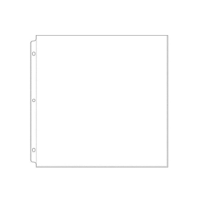 WRMK-58833 【リフィル】12インチページプロテクター 10枚入り アルバム&リフィル\12インチサイズ
