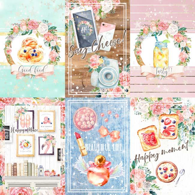 MP-60568 Asuka Studio Happy Place 12x12 4x6 4