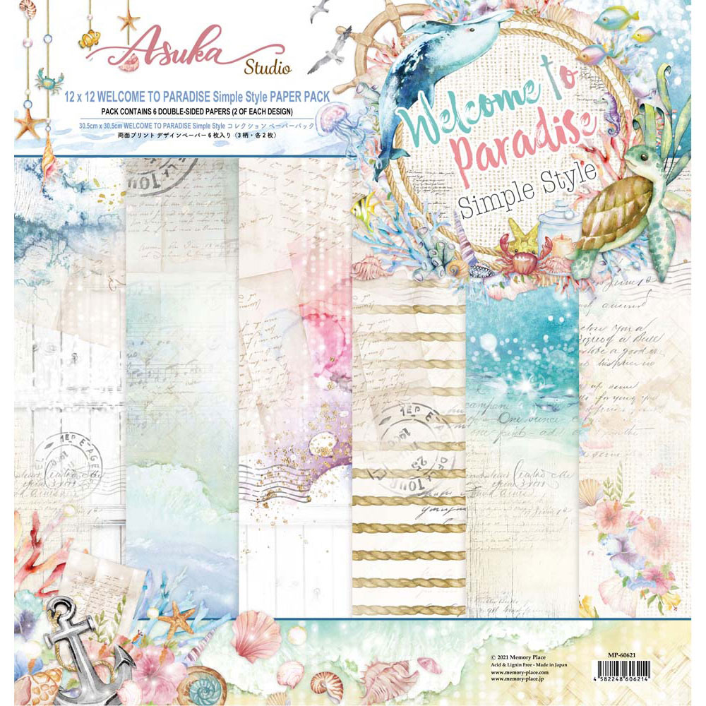 MP-60621  Welcome to Paradise Simple Style 12x12 Collection Pack