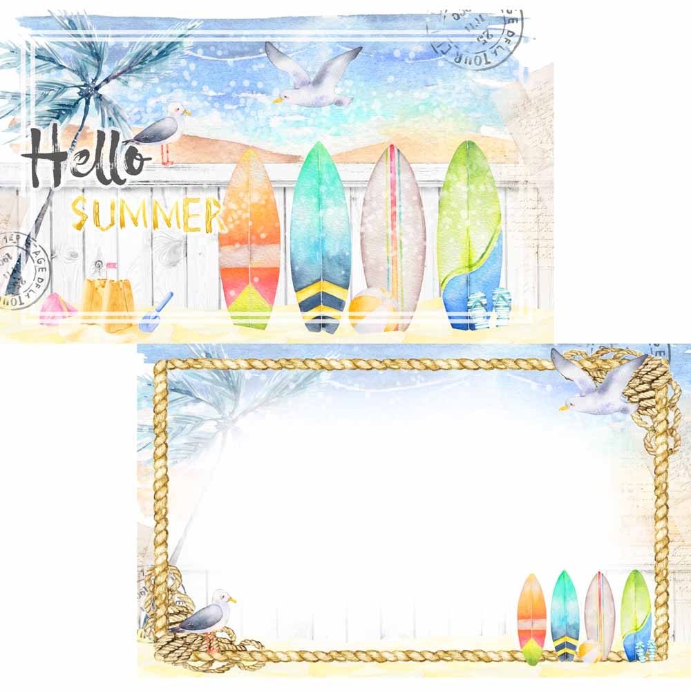 MP-60628  Welcome to Paradise Journal Card